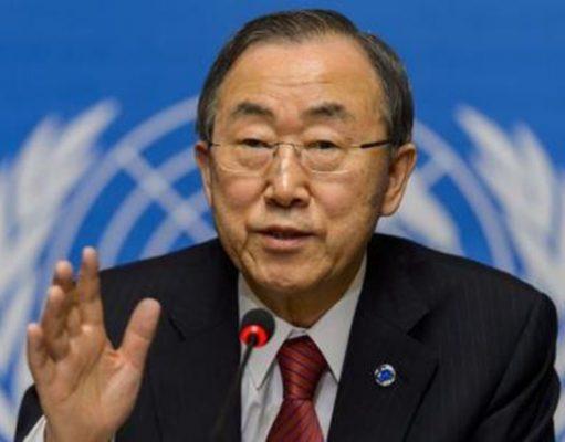 Ban Ki-Moon souhaite un monde sans armes nucléaires