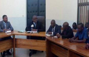 Les journalistes sur le sommet de Lomé
