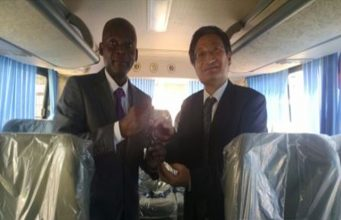 Le ministre Robert Dussey et Liu Yuxi