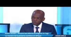 Le Ministre Robert DUSSEY sur TV5 MONDE