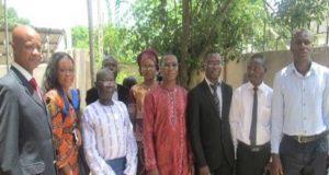 Les membres de la coordination pays de l'UAOD