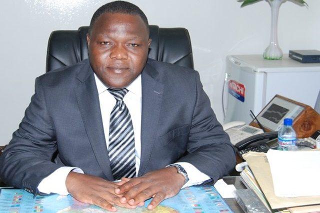 Directeur général du CETEF, Johnson Kuéku-Banka