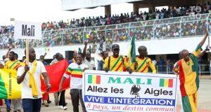 Les supporters des Aigles du Mali