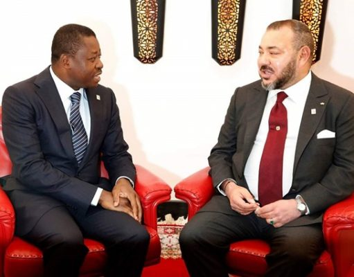 Faure Gnassingbé et le Roi Mohammed VI (Maroc)