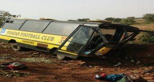 Bus de l'équipe de FOADAN FC
