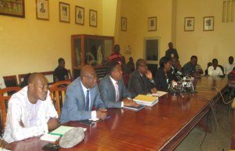 En conférence de presse sur la gestion des fonds de la CAN 2013