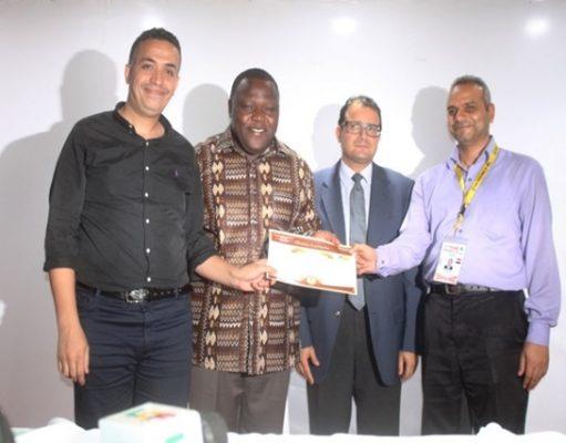 Cérémonie de clôture de la 13ème Foire internationale de Lomé