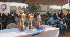 TOTAL-Togo organise un festival de football à l'endroit des conducteurs de taxi moto