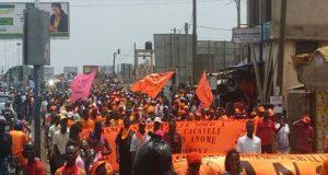 Mobilisation de la rue, CAP 2015