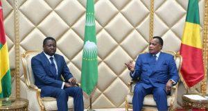 Faure Gnassingbé et Dénis Sassou Nguesso au Congo Brazzaville
