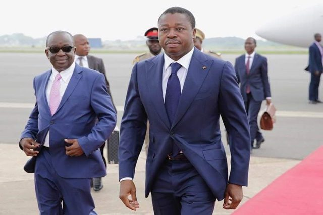 Faure Gnassingbé au Ghana pour le 60ème anniversaire de l'indépendance de ce pays