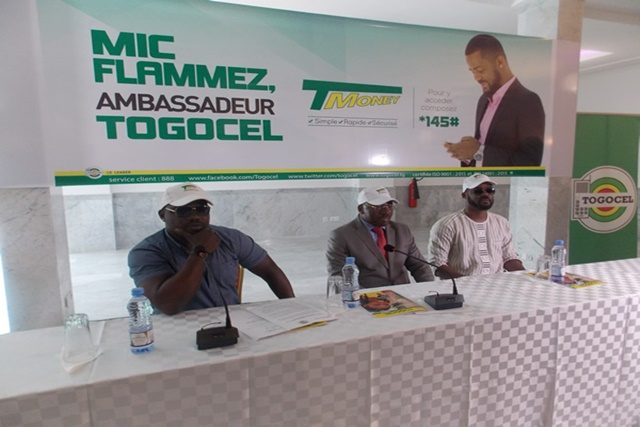Mic Flammez, nommé ambassadeur « T-Money » de TOGO Cellulaire
