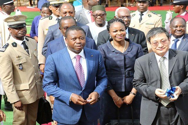 Faure Gnassingbé a officiellement lancé le réseau