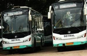 Les bus de SOTRAL
