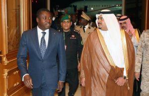 Faure Gnassingbé en Arabie Saoudite