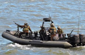 Exercice de gestion de crise maritime