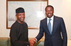 Yemi Osinbajo et Faure Gnassingbé