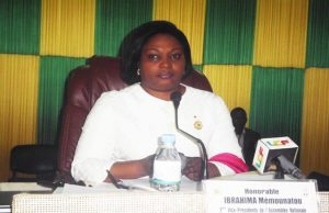 Méimounatou IBRAHIMA, coordinatrice du projet de renforcement de capacités des femmes d'UNIR en entrepreneuriat politique