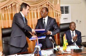 Echange de documents entre Nicolas Berlanga Martinez et le ministre Sani Yaya