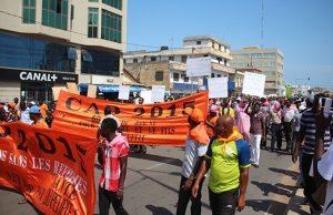 Une manifestation du CAP 2015 (archives)