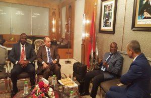Échange avec les autorités marocaines