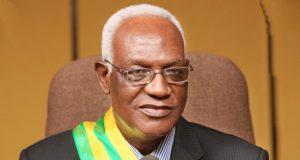 Dama Dramani, président de l'Assemblée nationale du Togo