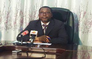 Le ministre de la justice, Pius Agbétomey