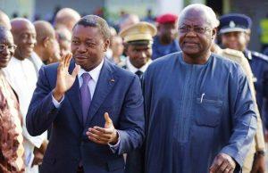 Faure Gnassingbé et Ernest Bai Koroma