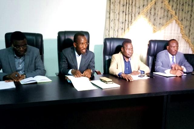 La délégation ministérielle