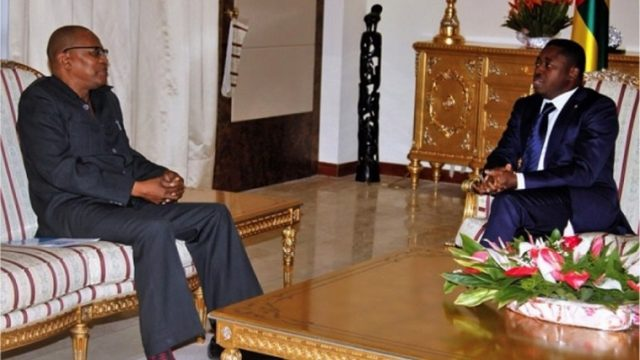 Dr. Ibn Chambas et Faure Gnassingbé