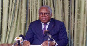 André Johnson, ministre de l'environnement et des ressources forestières