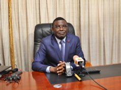 Le ministre des enseignements primaire et secondaire, Komi Paalamwé Tchakpélé