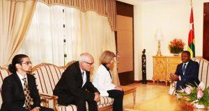 Mme Maria Cristia Martins-Barrera et sa délégation chez Faure Gnassingbé