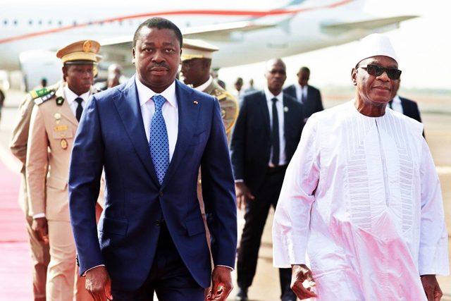Faure Gnassingbé et Ibrahim Boubakar Keita