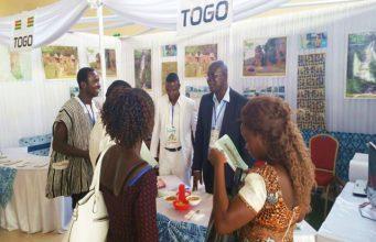 Une vue du stand du Togo