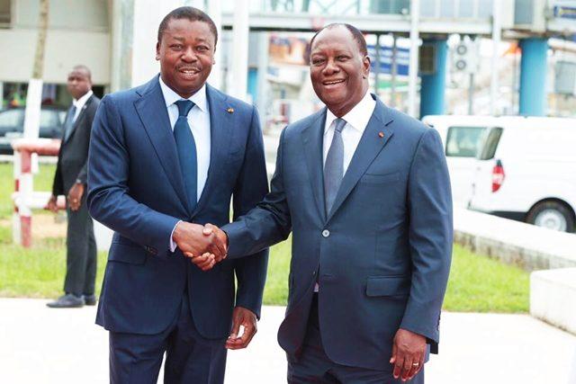 Faure Gnassingbé et Alassane OUATTARA