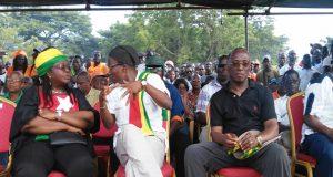 Des leaders de la coalition de l'opposition lors d'un meeting à Lomé (archives)