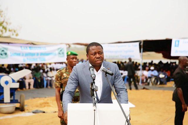 Faure Gnassingbé dans son intervention