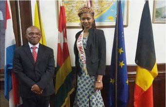 Mlle Dédévi Cornelia Adomayakpo et M. Kokou Nayo M'Beou