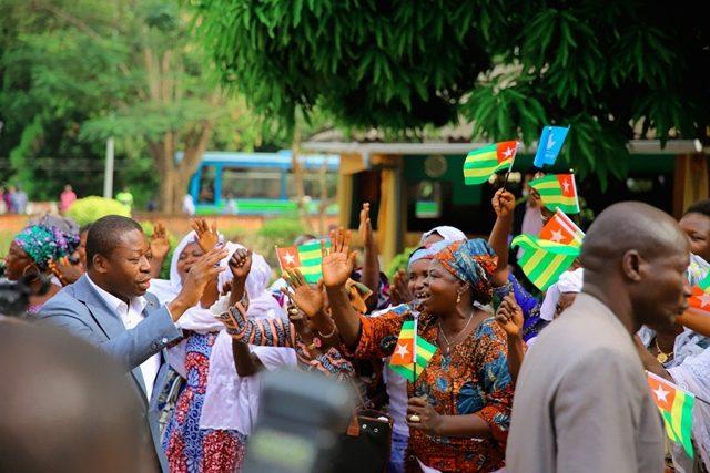 Faure Gnassingbé lors de son passage à Sokodé le 25 novembre dernier
