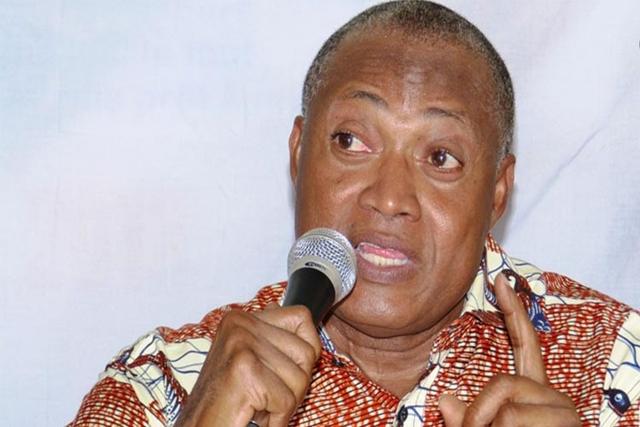 Jean Pierre Fabre, leader de l'ANC et chef de file de l'opposition