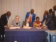 Signature de la convention de financement