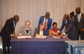 Signature de la convention de financement