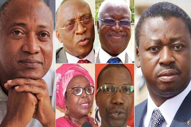 Des acteurs de la classe politique togolaise