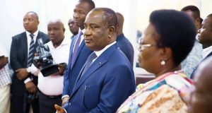 Komi Sélom Klassou et sa délégation en visite au CFE