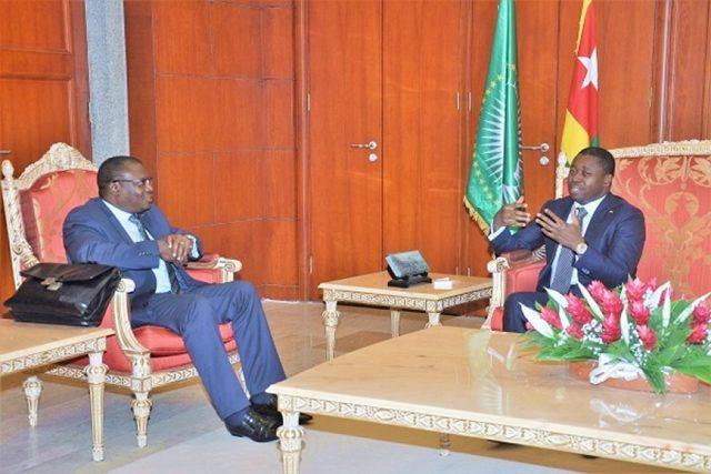 Aristide Da Silva et Faure Gnassingbé
