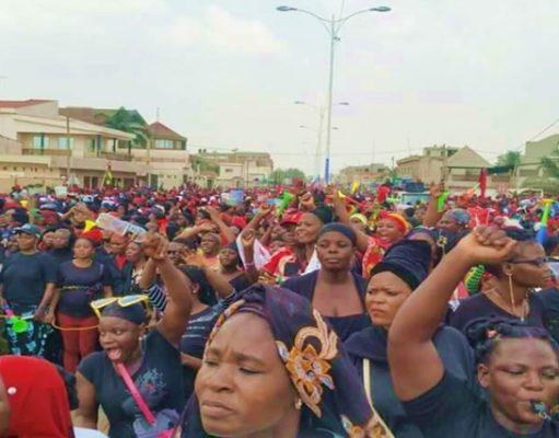 Manifestation des femmes ce samedi à Lomé