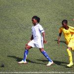 Des joueuses des clubs ATHLETA FC de Lomé et BELLA FC de Kara (archives)