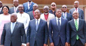 Les Chefs d'Etat de la CEDEAO mercredi à Accra