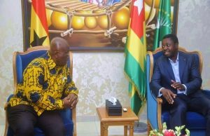 Nana Akufo-Addo et Faure Gnassingbé